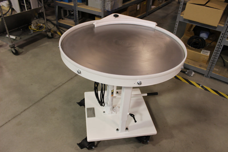 "36"" Rotary Table - Stainless Steel Top"