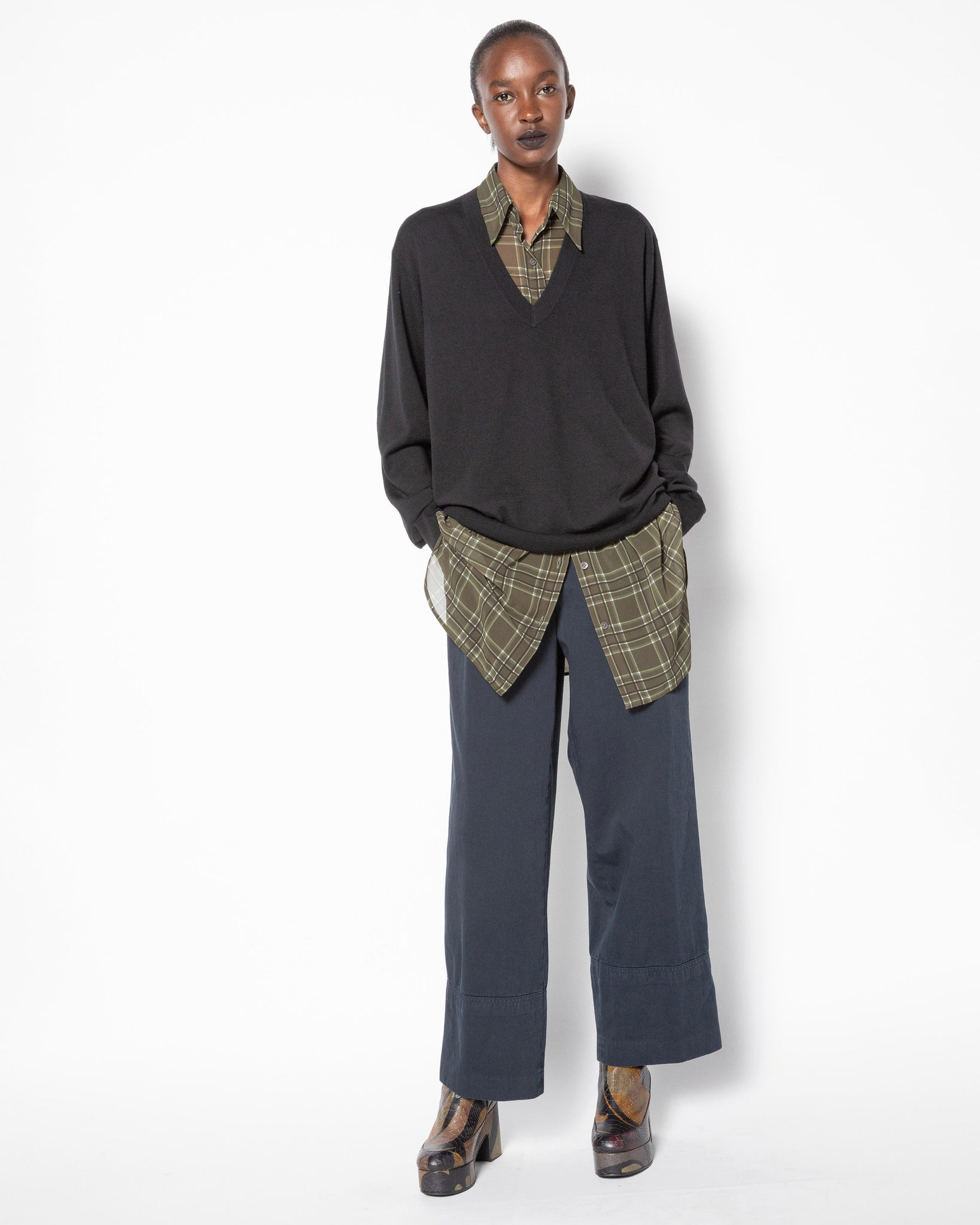PAROVAL wide-leg pants