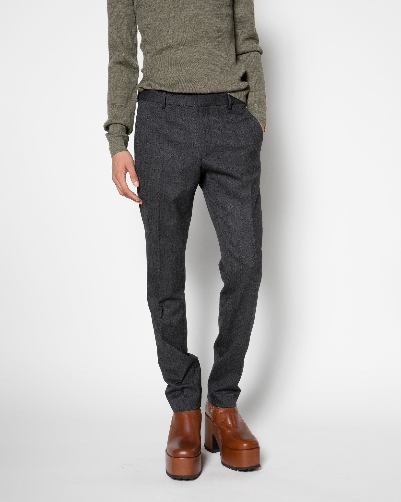 PATRINI slim cut trouser