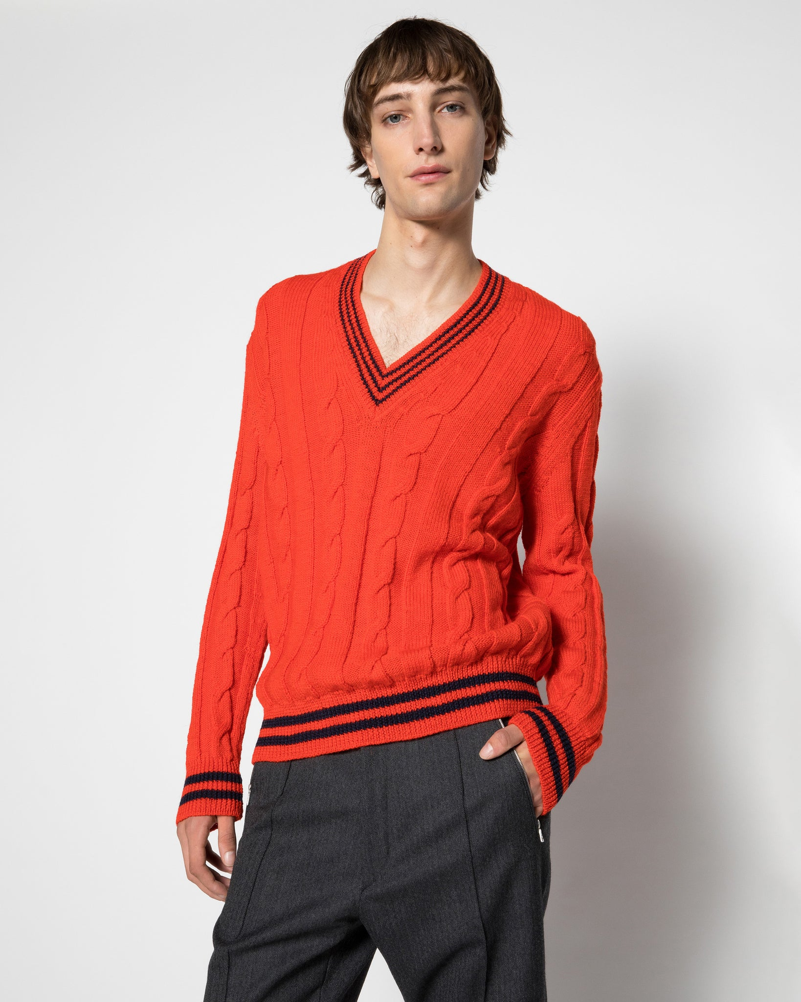 MANUS cable knit sweater