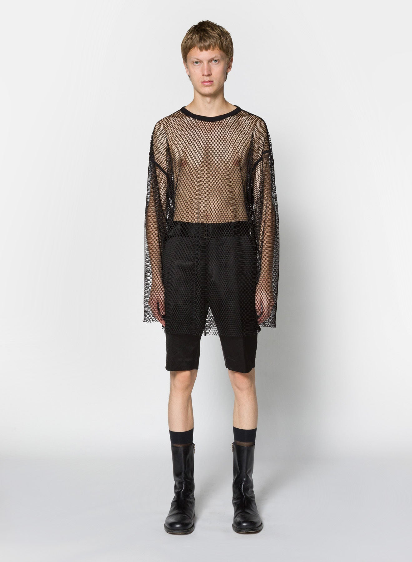 HEGLAND BIS long sleeve mesh shirt