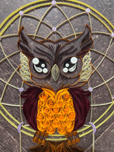 Load image into Gallery viewer, Owl Dreamcatcher