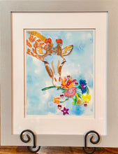 Load image into Gallery viewer, Giraffe with Flowers