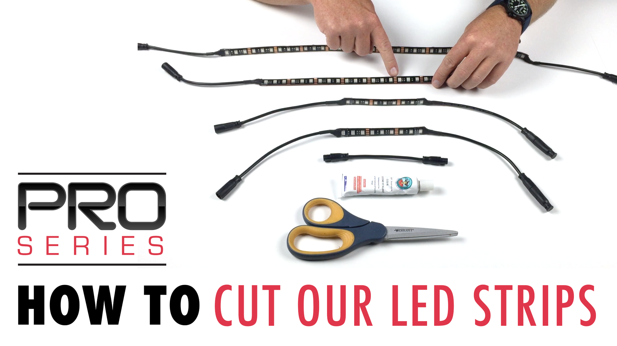 WATCH: How To Cut Our LED Strips