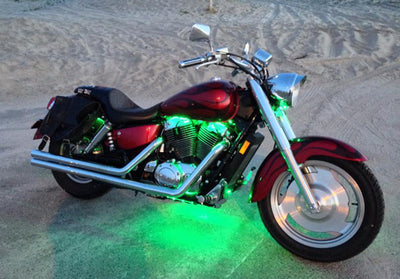 Cruiser Motorcycle 144 Multi-Color LED Kit