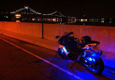 Sport Motorcycle 180 Multi-Color LED Kit