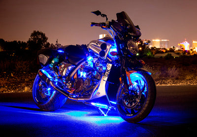Cruiser Motorcycle 216 Multi-Color LED Kit