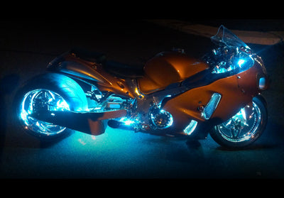 Sport Motorcycle 234 Single Color LED Kit