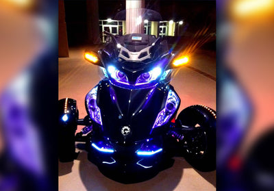 Can-Am Spyder 243 Single Color LED Kit