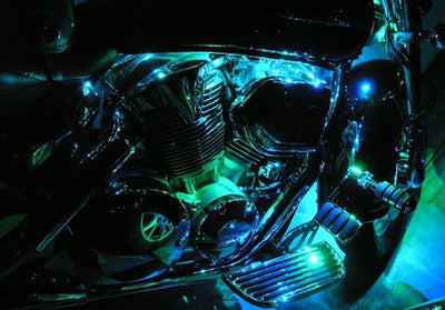 Cruiser Motorcycle 72 Multi-Color Engine Kit