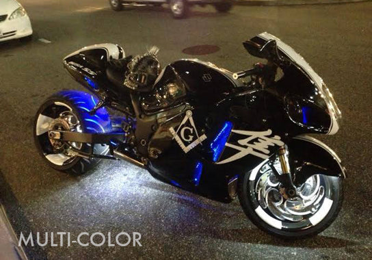 ProSeries Sport Motorcycle 162 Multi-Color LED Kit