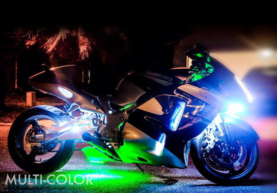 Sport Motorcycle 216 Multi-Color LED Kit