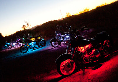 Cruiser Motorcycle 234 Multi-Color LED Kit