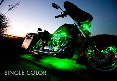 Touring Motorcycle 234 Single Color LED Kit