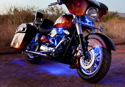 Touring Motorcycle 234 Multi-Color LED Kit