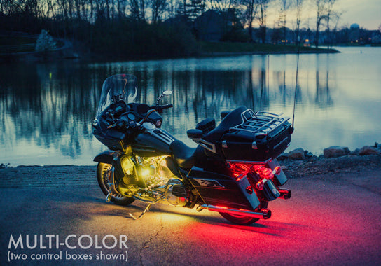 Touring Motorcycle 360 Multi-Color LED Kit