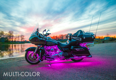 Touring Motorcycle 468 Multi-Color LED Kit