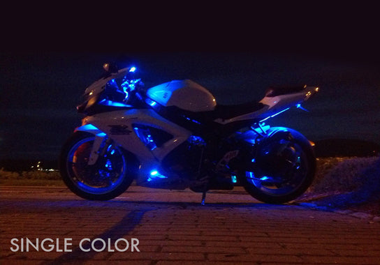 Sport Motorcycle 90 Single Color LED Kit