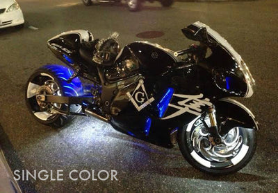 Sport Motorcycle 162 Single Color LED Kit