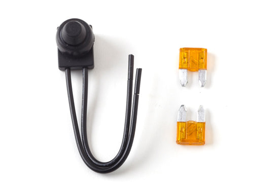 On/Off Switch with 2x5 Amp Fuses