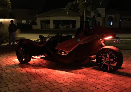 Polaris Slingshot 297 Multi-Color LED Kit