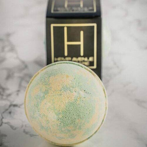 hemp+ave+bath+bomb