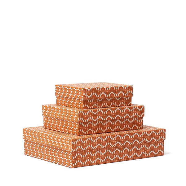 FREQUENCY Decorative Box<br>Orange - Esme Winter