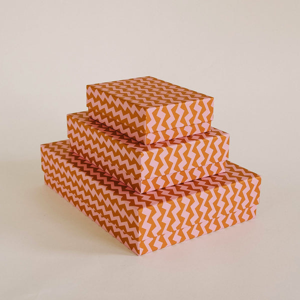 DANCERS Box Trio<br> Orange / Pink - Esme Winter
