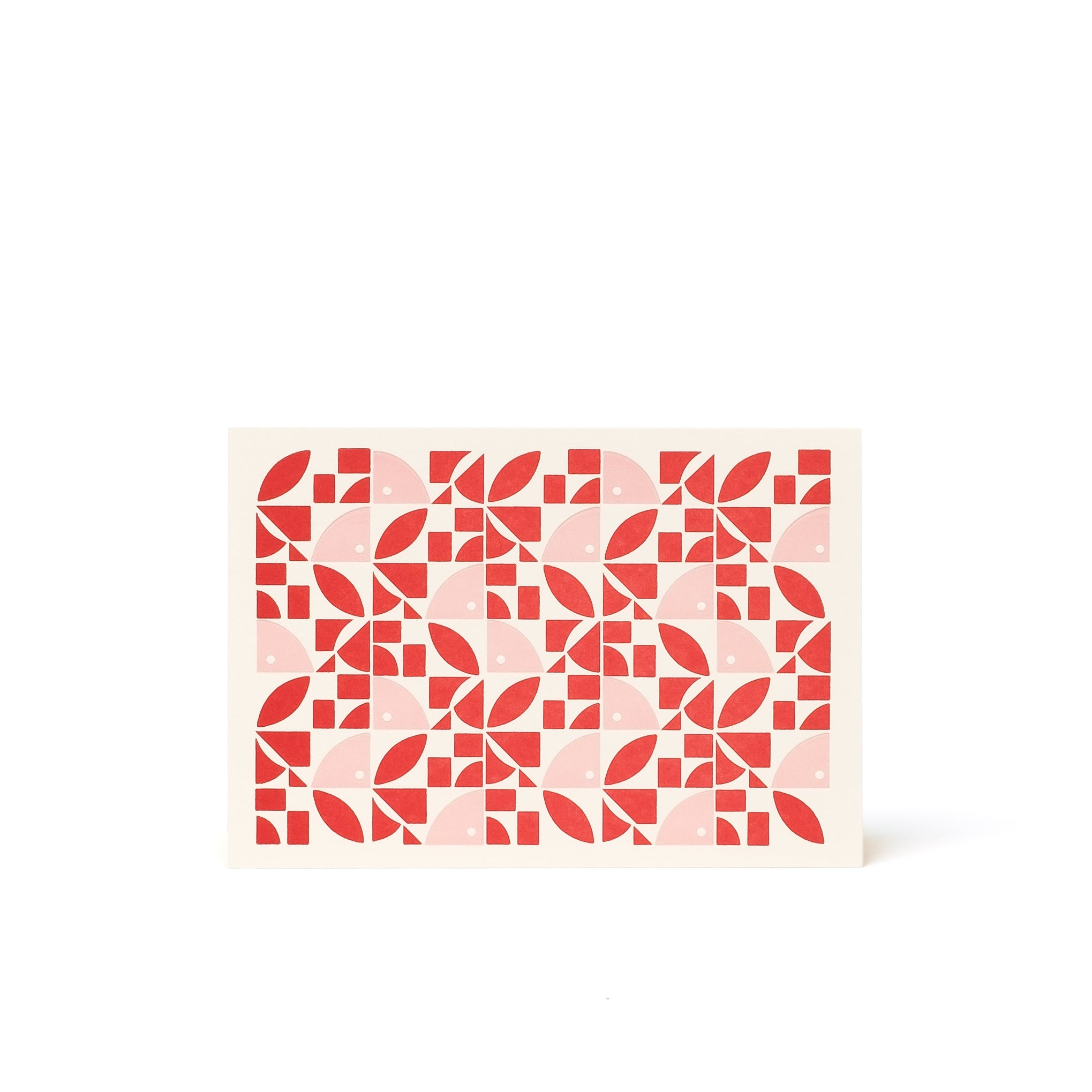BLOOM Letterpress Card <br>Red / Pink - Esme Winter