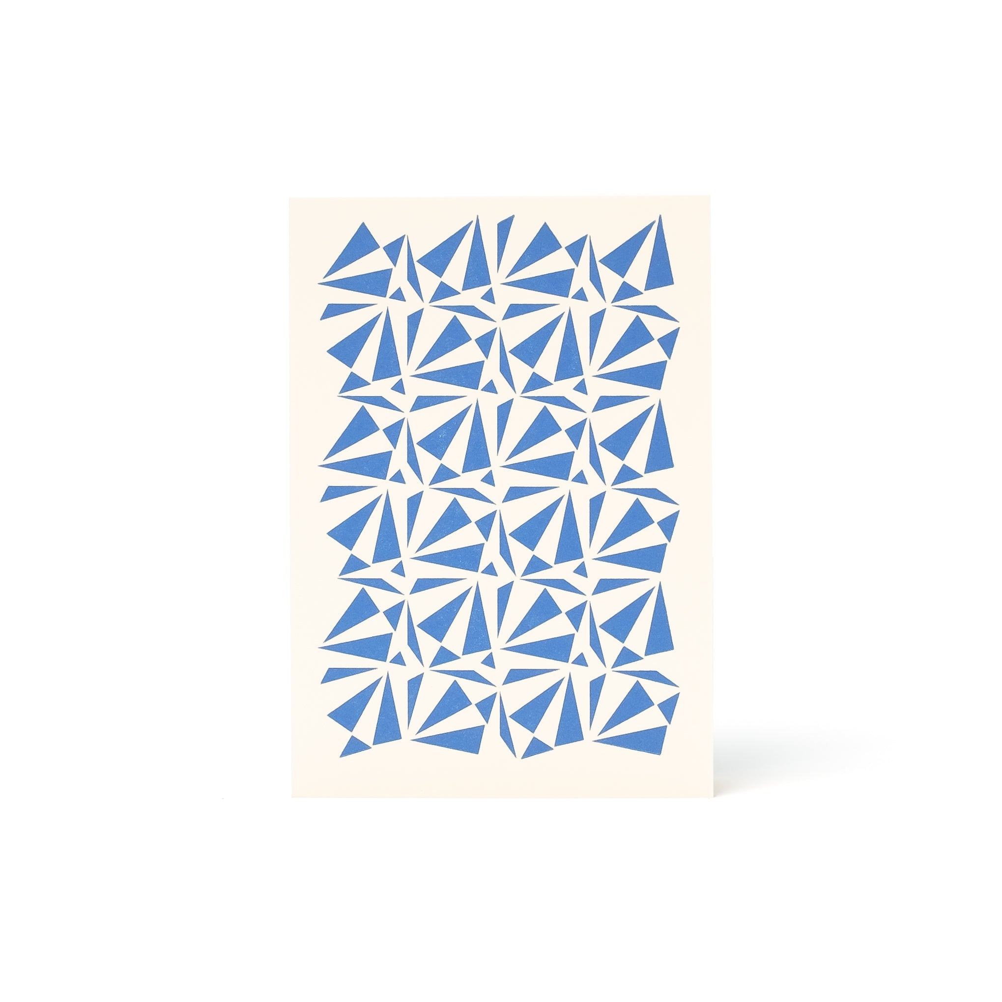 OTTO Letterpress Card <br>Bright Blue - Esme Winter