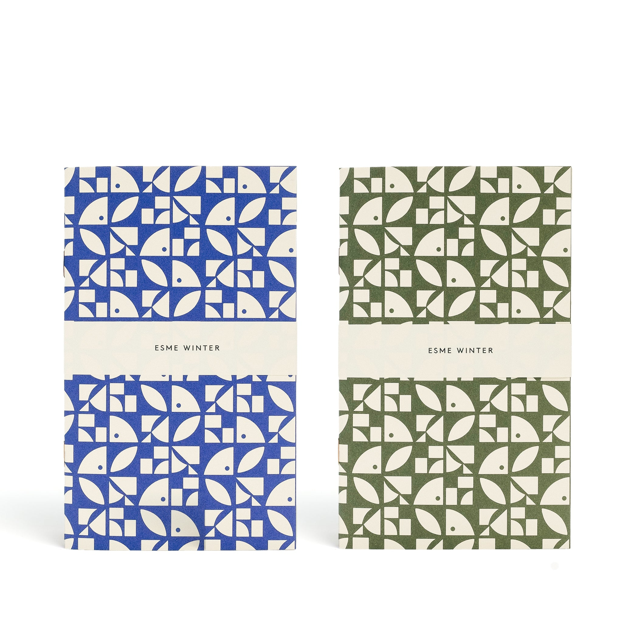 BLOOM<br> Pack of 2 Patterned Notebooks - Esme Winter