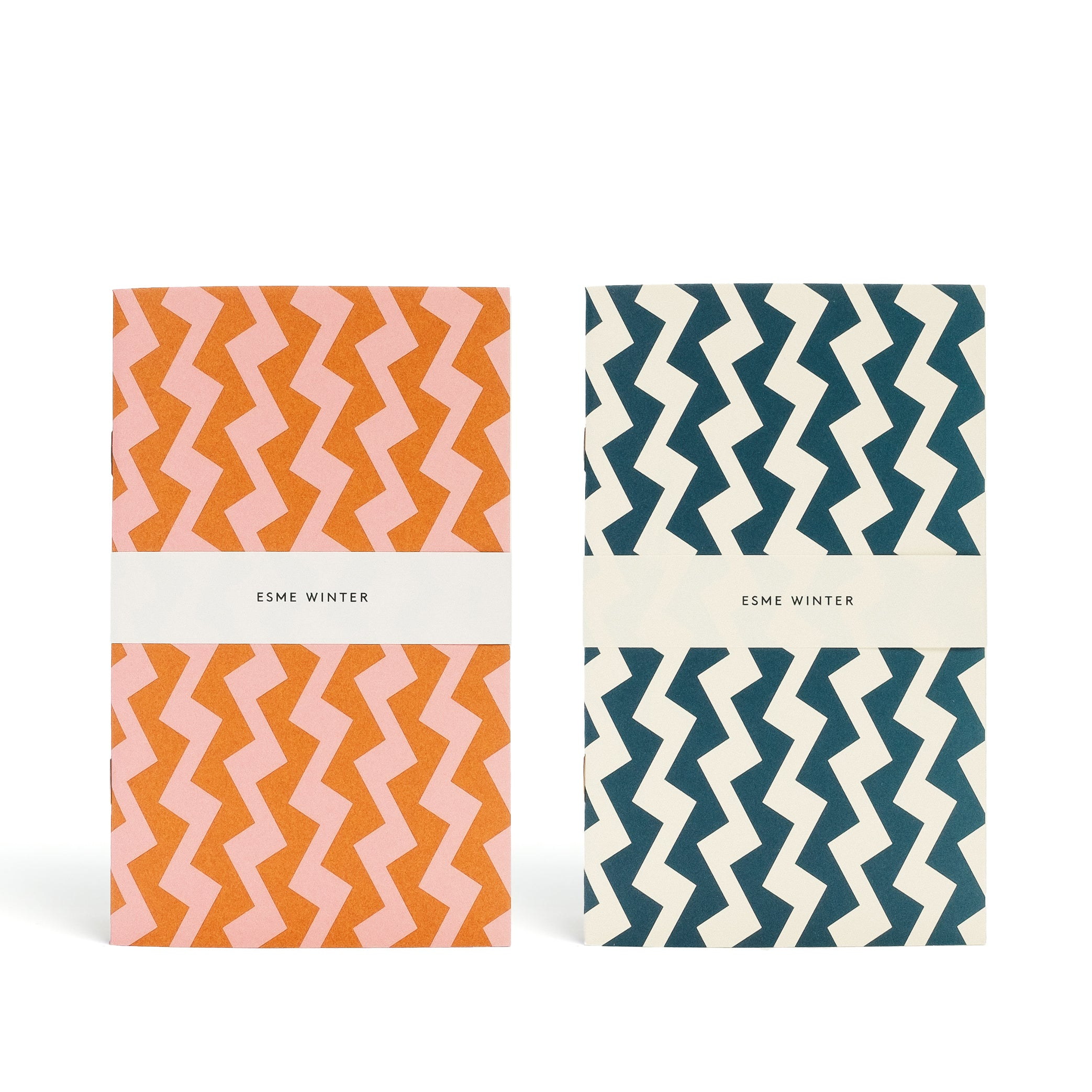 DANCERS<br> Pack of 2 Patterned Notebooks - Esme Winter