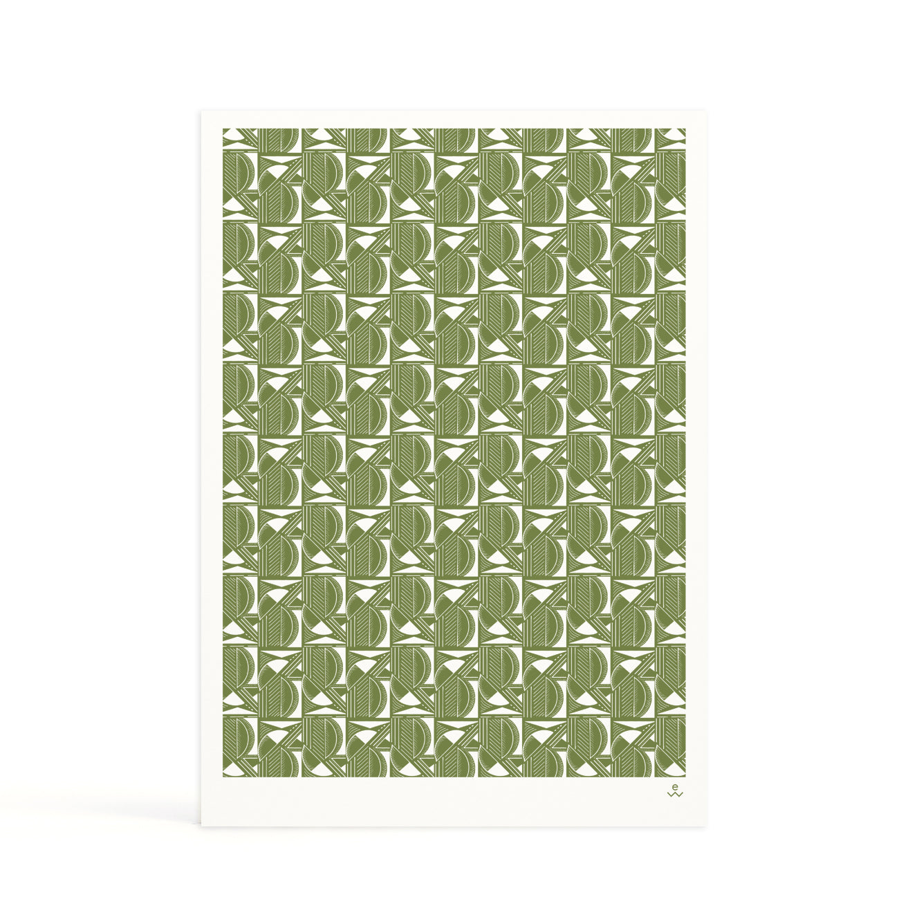 Limited Edition A3 Screenprint <br> Green - Esme Winter