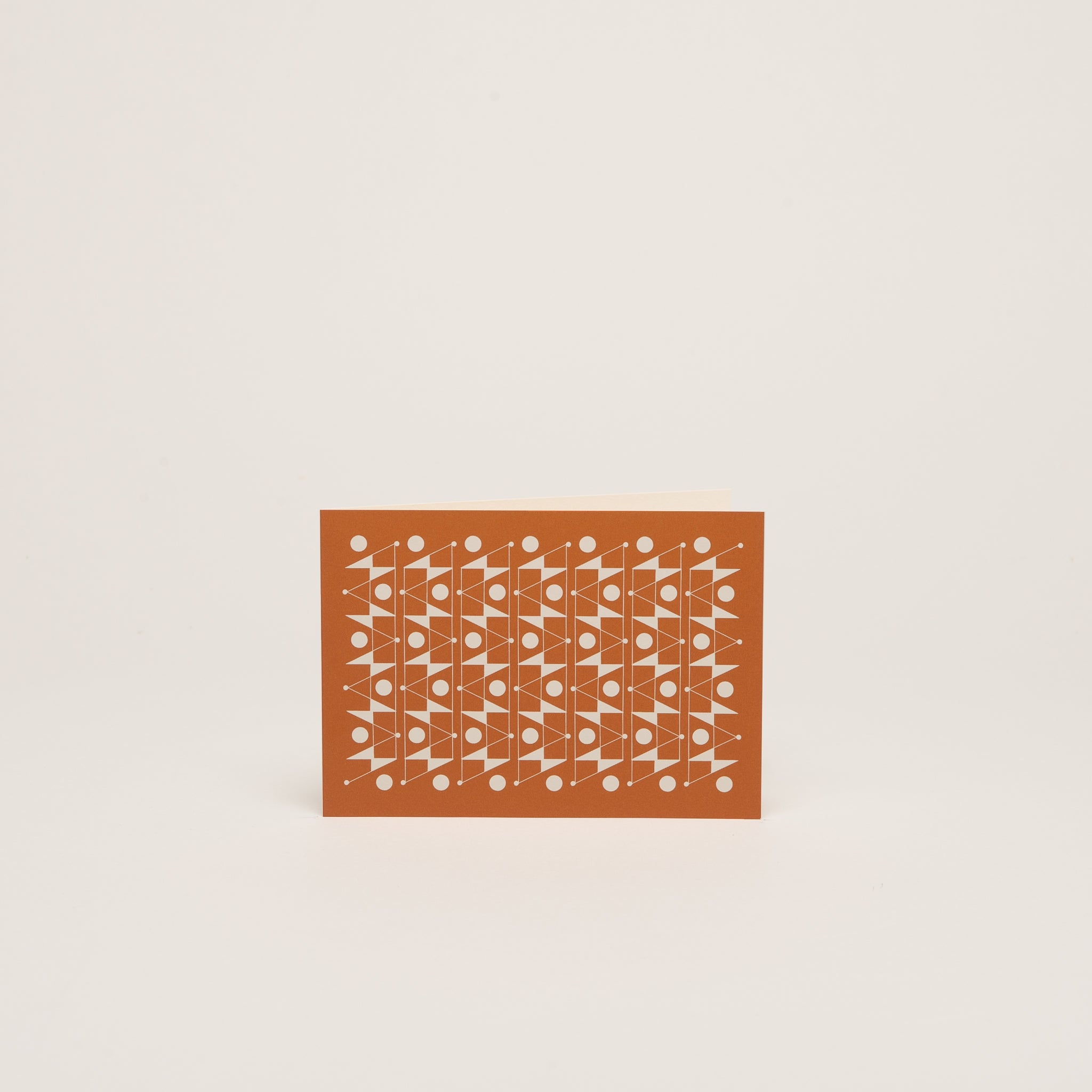 FREQUENCY Notecard  <br>  Orange - Esme Winter