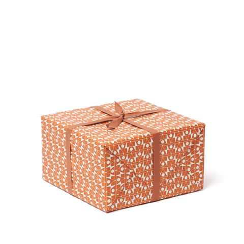 FREQUENCY Patterned Paper <br>Orange