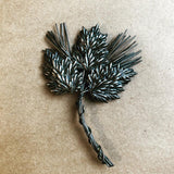 Coro Craft Leaf pin (1940s)
