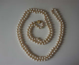 Extra Long Strand of Costume Pearls (1990s)