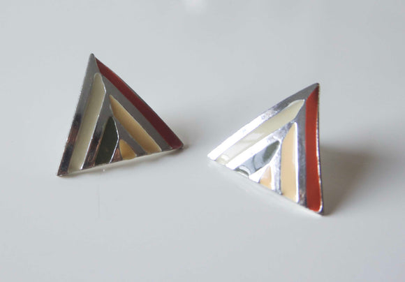 Triangle Earrings (1970s)