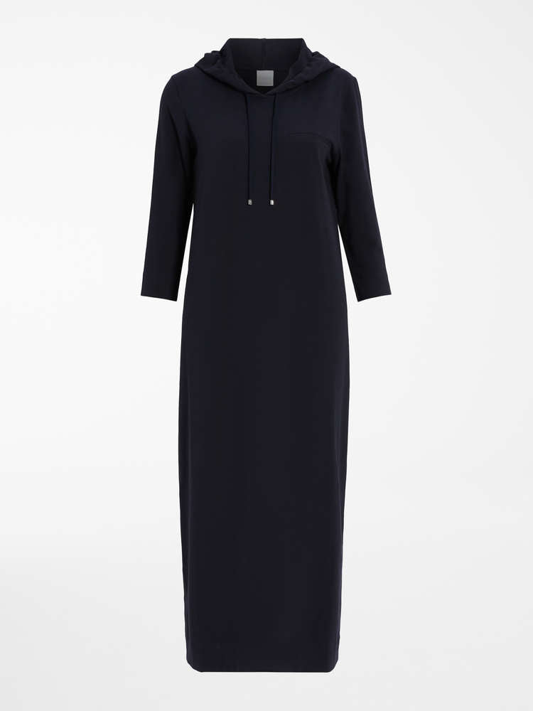 Max Mara Leisure Opzione Knitted Dress - Navy
