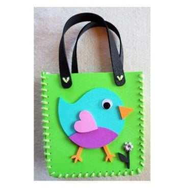 Make your own little foam handbag - BIRDIE