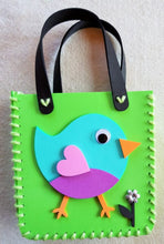 Load image into Gallery viewer, Make your own little foam handbag - BIRDIE