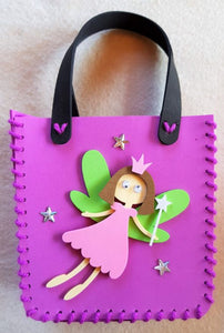 Make your own little foam handbag - FAIRY