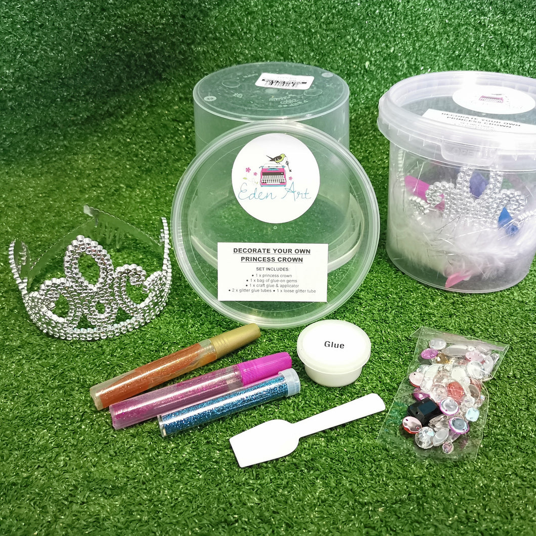 Decorate your own princess crown