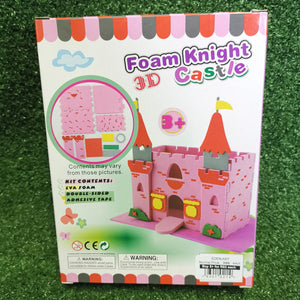Build your own 3D foam castle