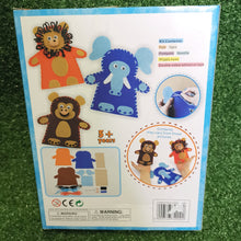 Load image into Gallery viewer, Make your own felt puppets kit