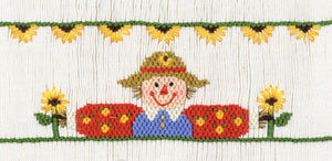 Sunflower Scarecrow #140