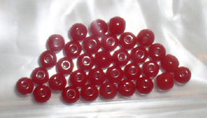 Red Seed Beads