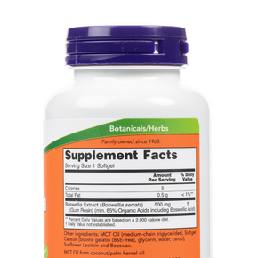 Now-BoswelliaExtract-Softgels-SupplementFacts