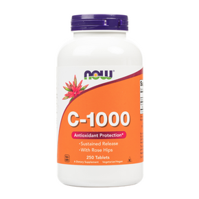 Vitamin C-1000 Sustained Release Tablets - 250 Tablets