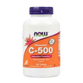 NOW Foods - Vitamin C-500 Chewable Tablets - 100 Tablets